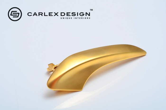 Carlex Design 24k Gold Trimmed Mercedes 4