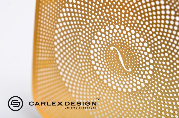 Carlex Design 24k Gold Trimmed Mercedes 6