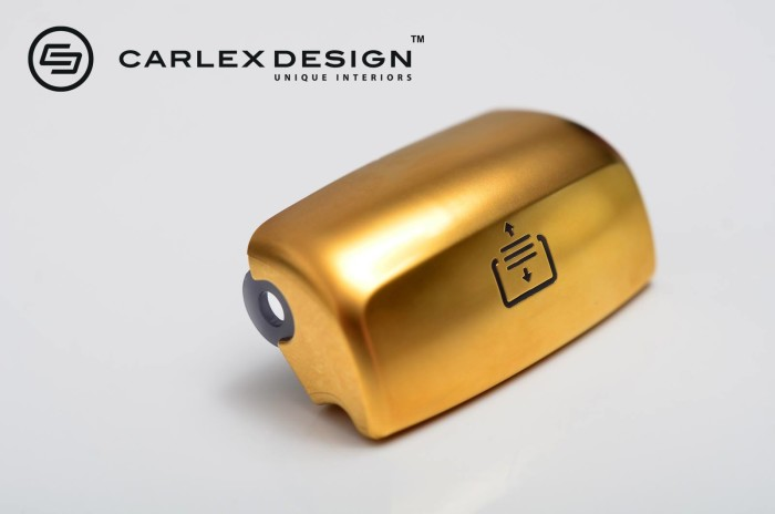 Carlex Design 24k Gold Trimmed Mercedes 9