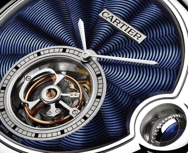 Cartier Ballon Bleu Flying Tourbillon Blue Enamel 2