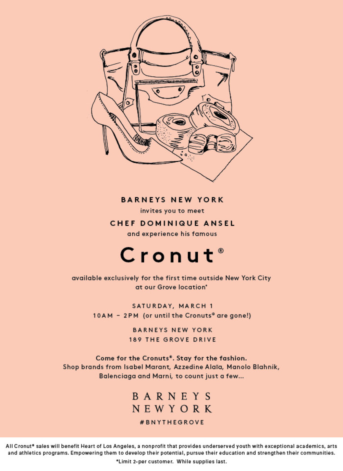 Dominique Ansel March Cronut 2