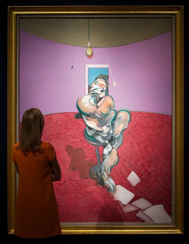 Francis Bacon Portrait of George Dyer Talking 2