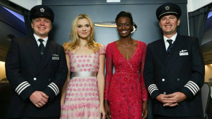 Harrods Catwalk British Airways 2