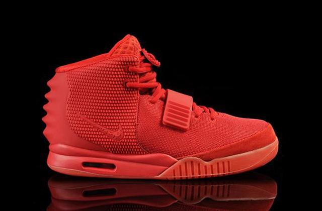 Kanye West's Nike Red October 2