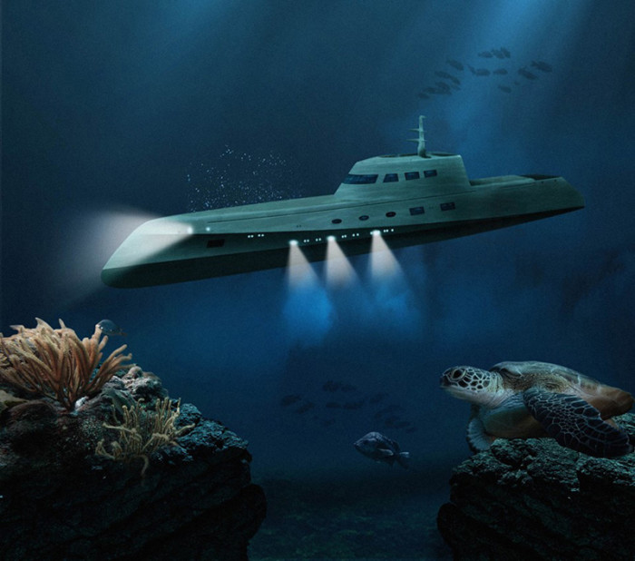 Luxury Submarine Lover Deep 1