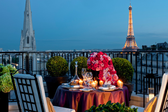 Most Extravagant Hotel Suites -Four Seasons Paris