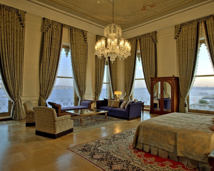 Most Extravagant Hotel Suites - Sultan Suite, Turkey