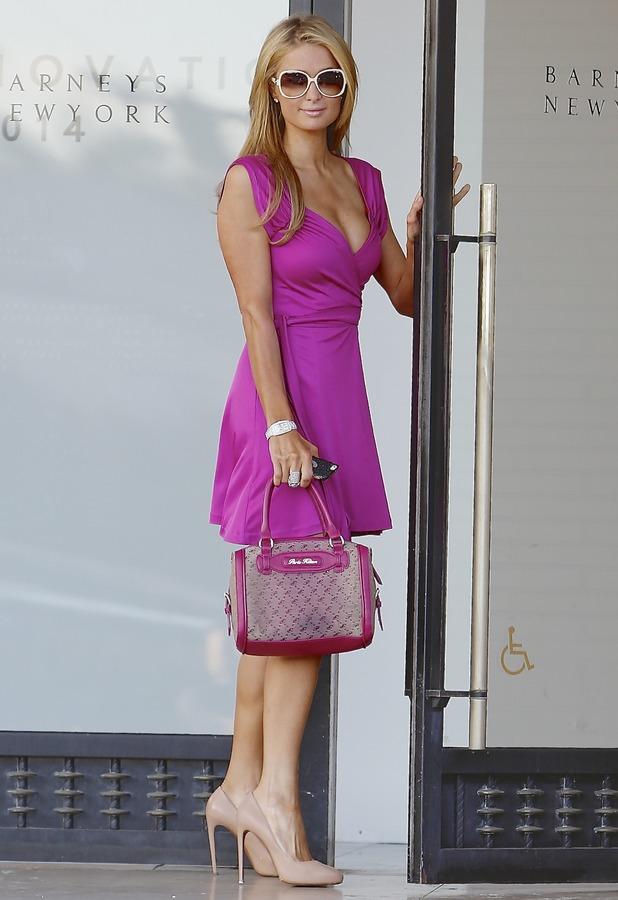 Paris Hilton - Pink Bentley 3