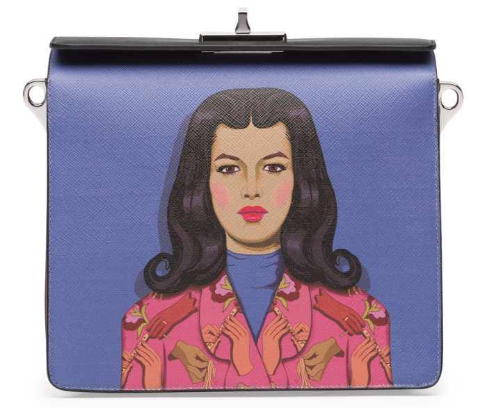 Prada Safiano Face Art Bag 1