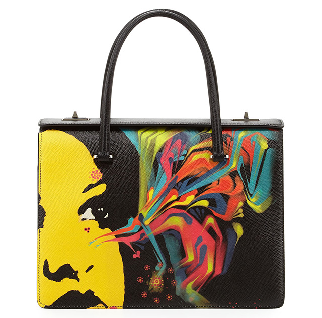 Prada Safiano Face Art Bag 2