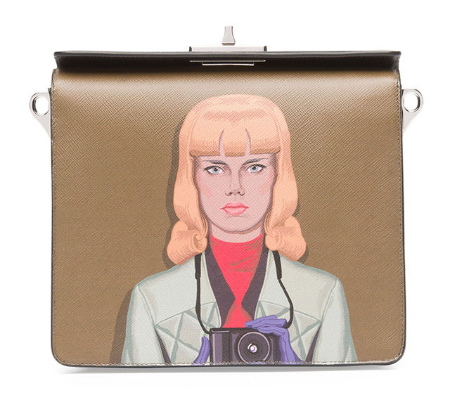 Prada Safiano Face Art Bag 3