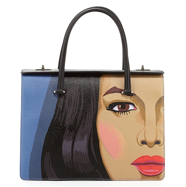 Prada Safiano Face Art Bag 4