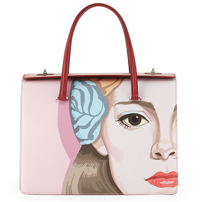 Prada Safiano Face Art Bag 5