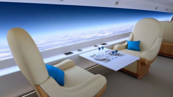 S-512 Supersonic Jet Windowless Cabin 1