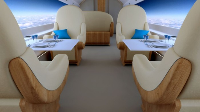 S-512 Supersonic Jet Windowless Cabin 5