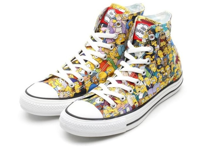 Simpsons Chuck Taylor All Star Sneakers 1