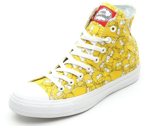 Simpsons Chuck Taylor All Star Sneakers 2