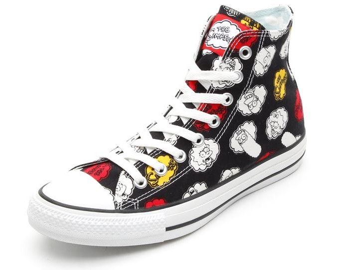 Simpsons Chuck Taylor All Star Sneakers 3