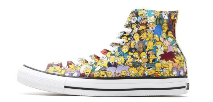 Simpsons Chuck Taylor All Star Sneakers 4