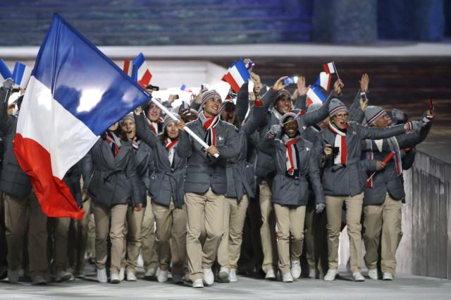 AP SOCHI OLYMPICS OPENING CEREMONY S OLY RUS