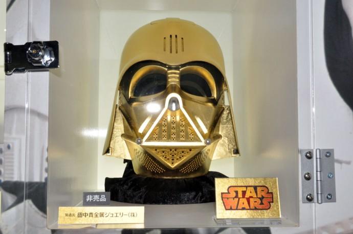 Solid Gold Darth Vader