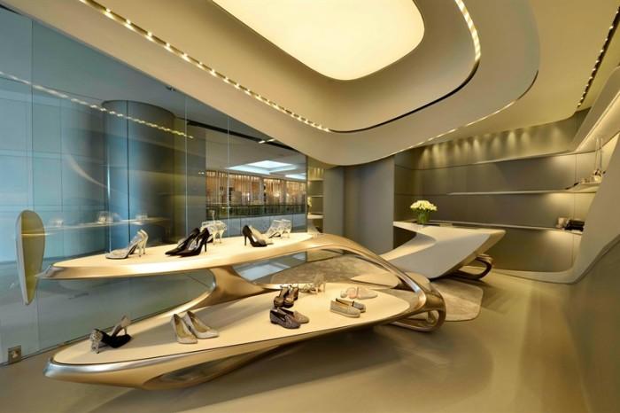 Zaha Hadid Stuart Weitzman Shoe Store Hong Kong 3