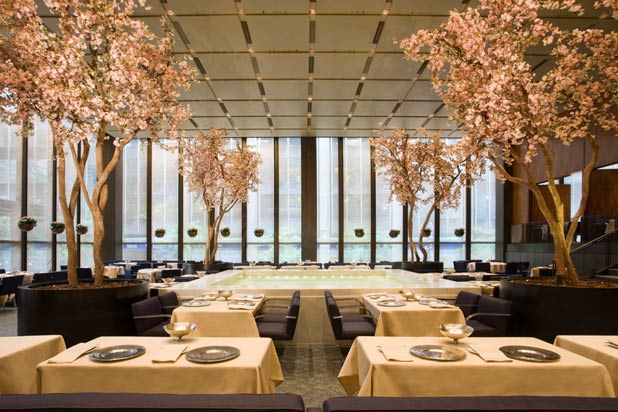 10 Most Beautiful Restaurants In The World -  The Four Seasons, New York 11