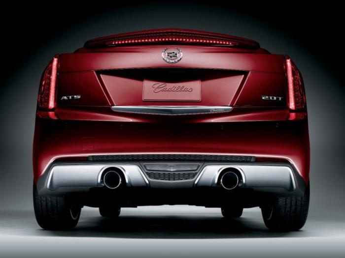 2014 Cadillac ATS Crimson Sport Edition 2