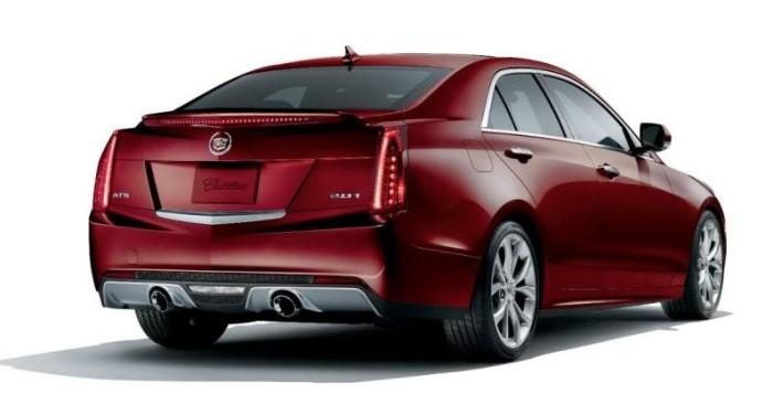 2014 Cadillac ATS Crimson Sport Edition 3