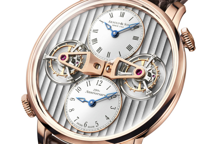 Arnold & Son - Double Tourbillon Escapement Dual Time 2