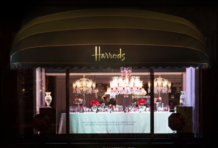 Baccarat 250th Anniversary At Harrods 1