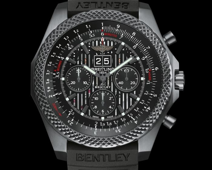 Breitling-Bentley 6.75 Midnight Carbon 1