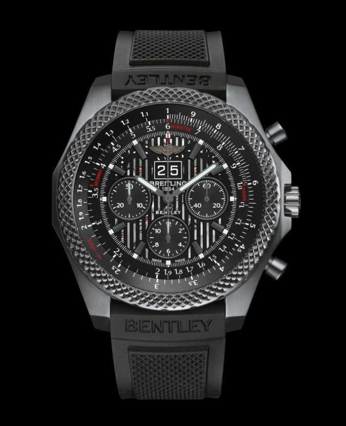 Breitling-Bentley 6.75 Midnight Carbon 2