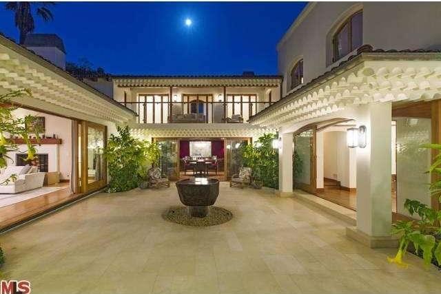 Bruce Willis Beverly Hills Hacienda 25