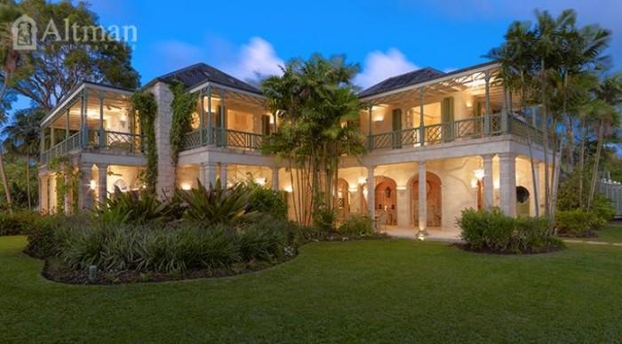 Four Winds Barbados Beachfront Villa 1