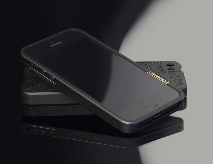 Gresso Titanium Bumper iPhone 5s -2