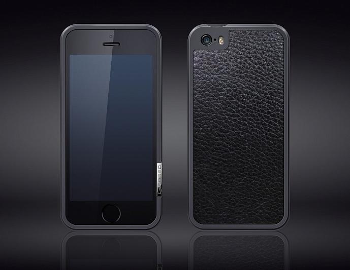 Gresso Titanium Bumper iPhone 5s -5