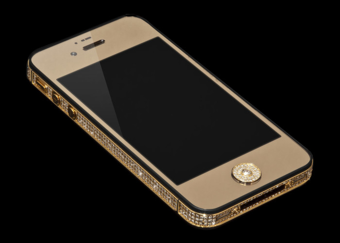 Million Dollar Gold And Diamond iPhone 1