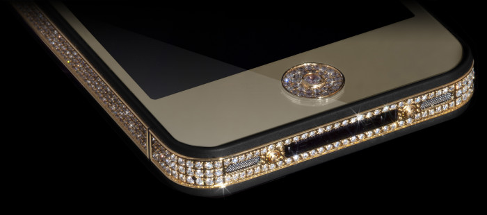Million Dollar Gold And Diamond iPhone 10