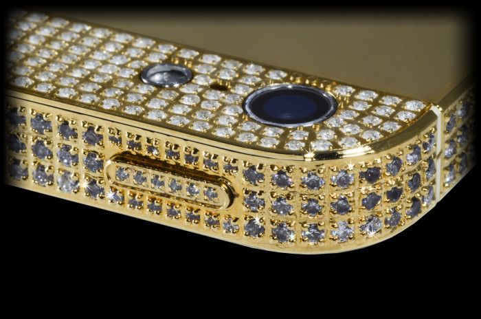 Million Dollar Gold And Diamond iPhone 3