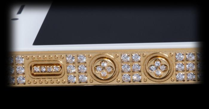 Million Dollar Gold And Diamond iPhone 5