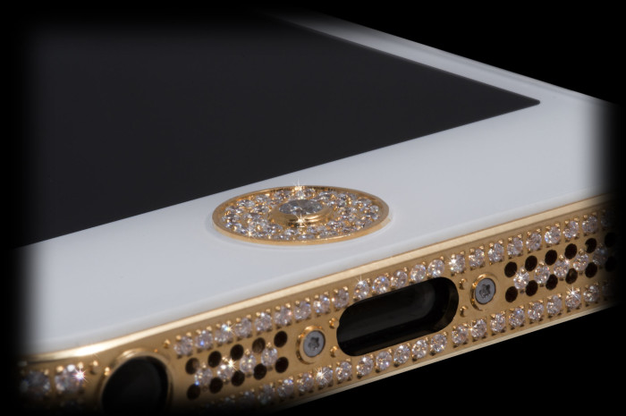 Million Dollar Gold And Diamond iPhone 6