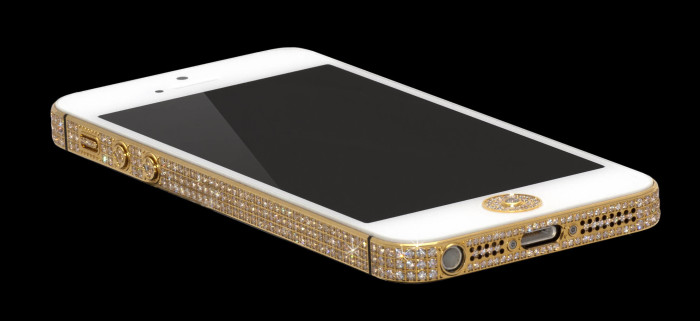 Million Dollar Gold And Diamond iPhone 8