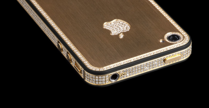 Million Dollar Gold And Diamond iPhone 9