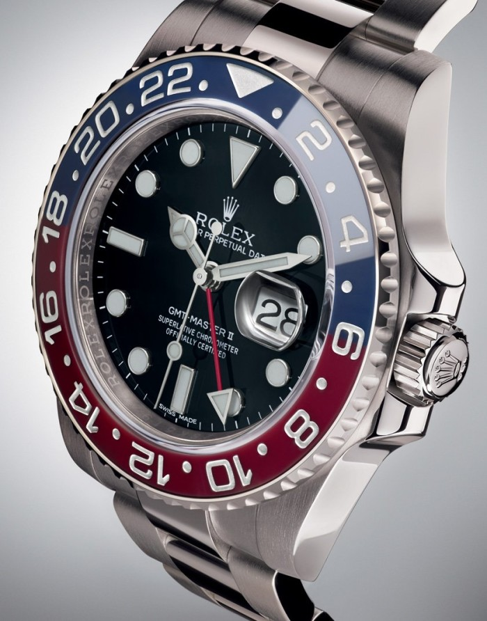 Rolex GMT-Master II Pepsi red and blue 1