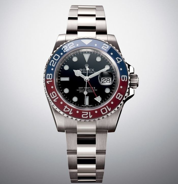 Rolex GMT-Master II Pepsi red and blue 4