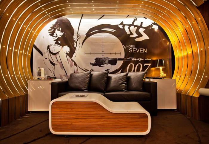 Seven Hotel James Bond Suite 1