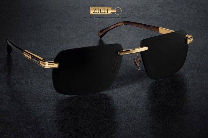 Zilli solid gold sunglasses 1