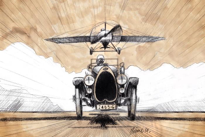Bugatti - Type 18 Black Bess 5