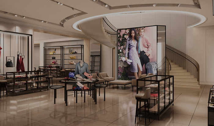 Burberry - new Shanghai flagship store 1